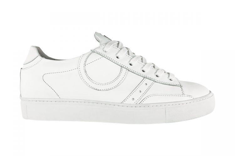 sneakers snatch bassa uomo donna full white