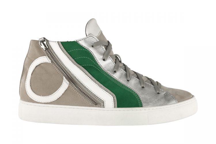 sneakers alta mid green