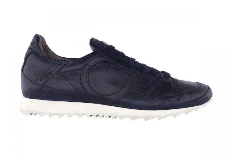 sneakers jog uomo donna tinta a mano blue